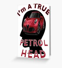 Petrolhead Greeting Card