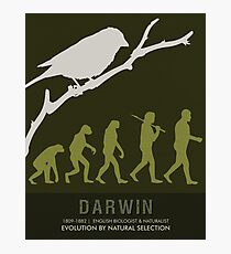 Science Posters - Charles Darwin - Biologist, Naturalist Photographic Print