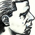 Profile of Man by Hoffard