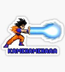 Kamehamehaaa Sticker