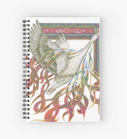 Wild Goose Spiral Notebook