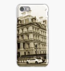 The City in Sepia iPhone Case/Skin