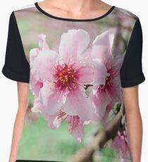 Peach Blossoms 15 Chiffon Top