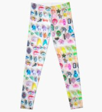 Pin Party! Print Leggings