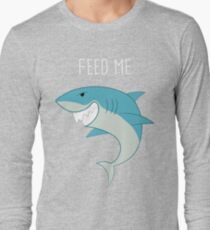 Feed Me Shark Long Sleeve T-Shirt