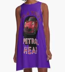 Petrolhead A-Line Dress