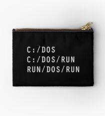 C DOS RUN Studio Pouch