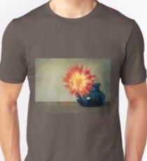 Orange Dahlia Unisex T-Shirt