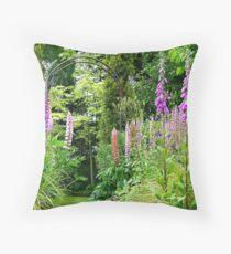 Our Tranquility!  - Southland Garden - NZ Throw Pillow