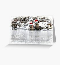 """You """"otter"""" have a Merry Christmas!  Greeting Card"""