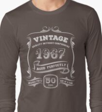 Vintage 1967 - 50th Birthday Gift Idea T-Shirt