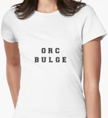 orc bulge Fitted T-Shirt