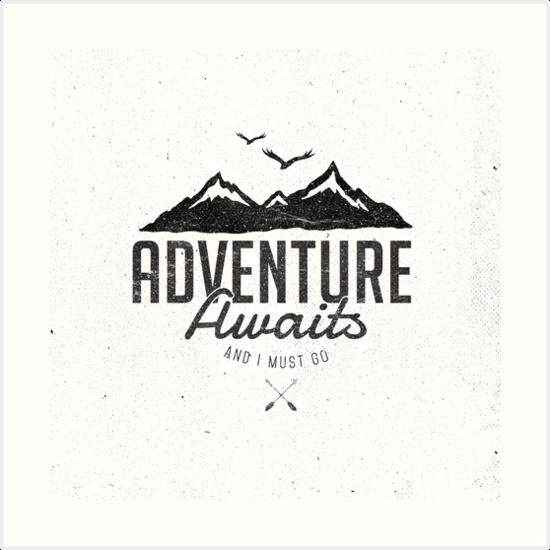 ADVENTURE AWAITS by Magdalena Mikos