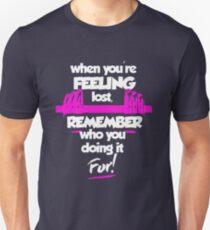 Fitness feeling remember Unisex T-Shirt