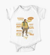 Hunk Quotes One Piece - Short Sleeve