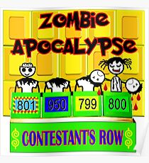 TV Game Show-TPIR (The Price Is) Zombies Poster