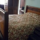 General and Mrs. Robert E Lee's bed by Karen Checca