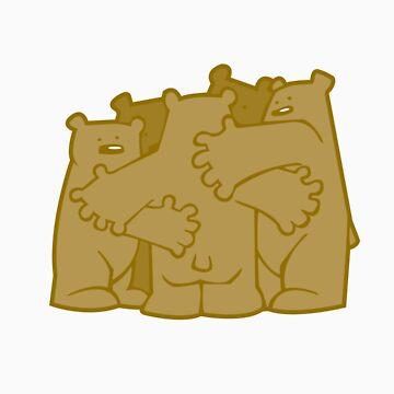 Group Bear Hug by Bakword