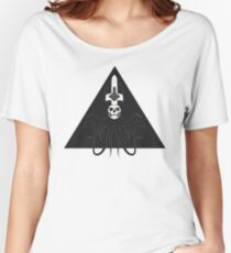 Ghost Squid Pyramid (black) Women's Relaxed Fit T-Shirt