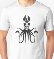 Ghost Squid (white) Unisex T-Shirt