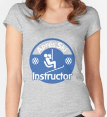 Apres Ski Instructor Women's Fitted Scoop T-Shirt