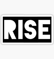 """""""Rise"""" Graphic Sticker"""