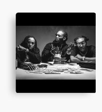 Migos Chillin Canvas Print