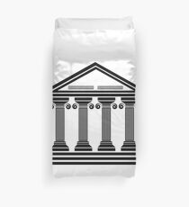 ancient columns Duvet Cover