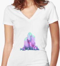 Imagine Dragons-Thunder Women's Fitted V-Neck T-Shirt