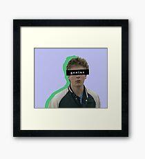 Lip Gallagher - genius Framed Print