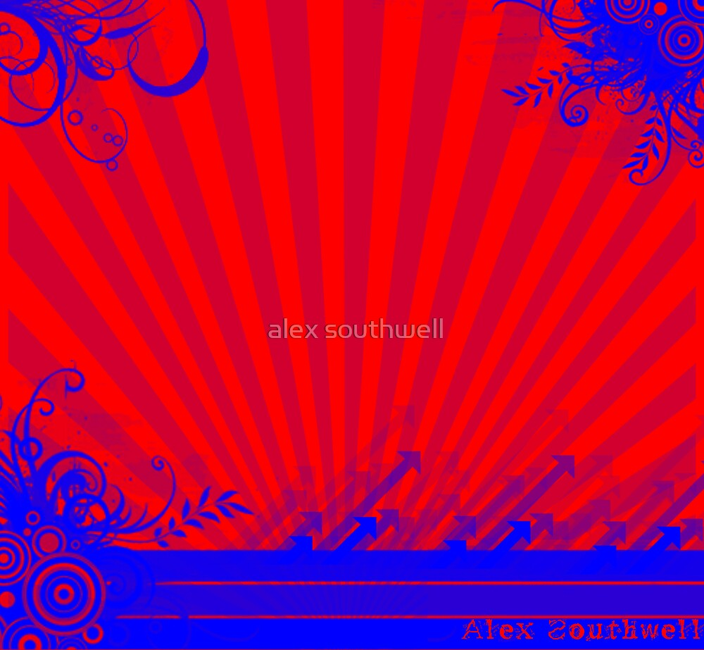 red and blue by alex southwell
