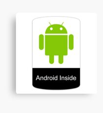 android inside Canvas Print