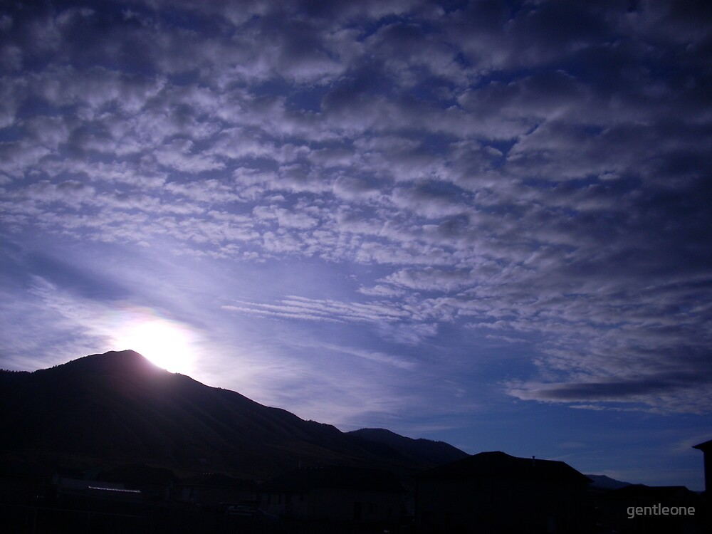 Beautiful Sunrise, Fall of 2007 by gentleone