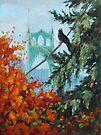 Crow's Eye View by Karen Ilari