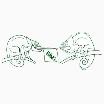 Chameleon Practical Joke by Bakword