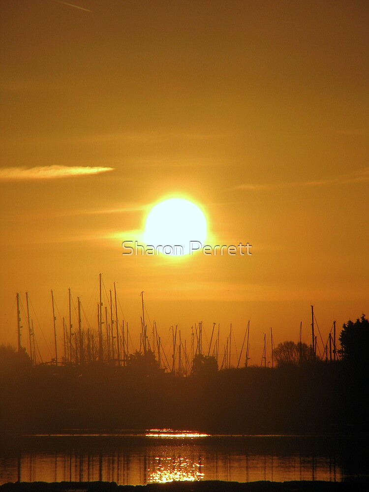 Sunrise 1 22-01-08 by Sharon Perrett