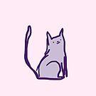cheeky cat by qitiji