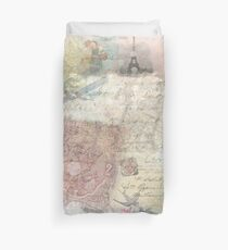 Vintage Travel  Duvet Cover