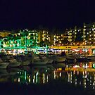 Evening By The Marina by phil decocco