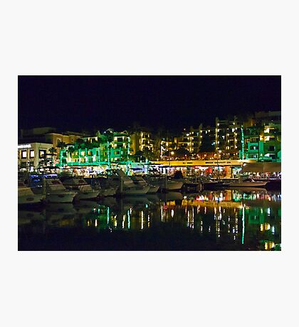 Evening By The Marina Photographic Print