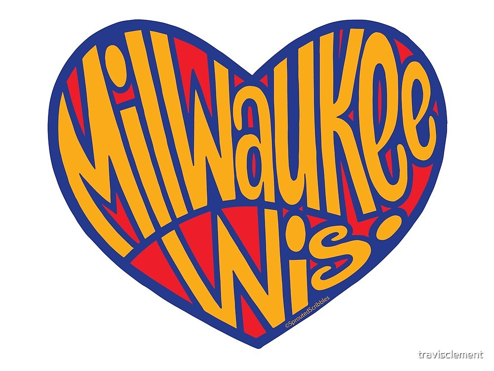 Milwaukee Wisconsin Heart by travisclement