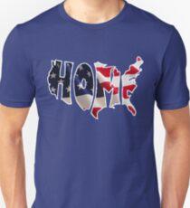 American Flag - Home Unisex T-Shirt