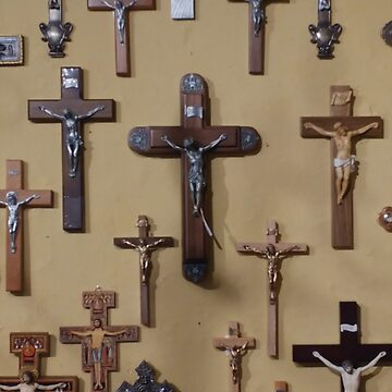 Wall of Crucifixes by BrettHole