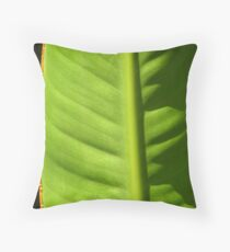 Leaf -  Light & Shadow Throw Pillow