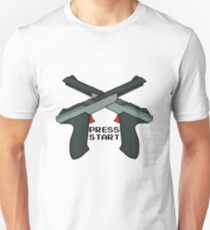 """Just Press """"Start"""" Unisex T-Shirt"""