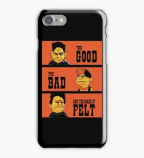 Angel - The Good, the bad, and the made of felt iPhone Case/Skin