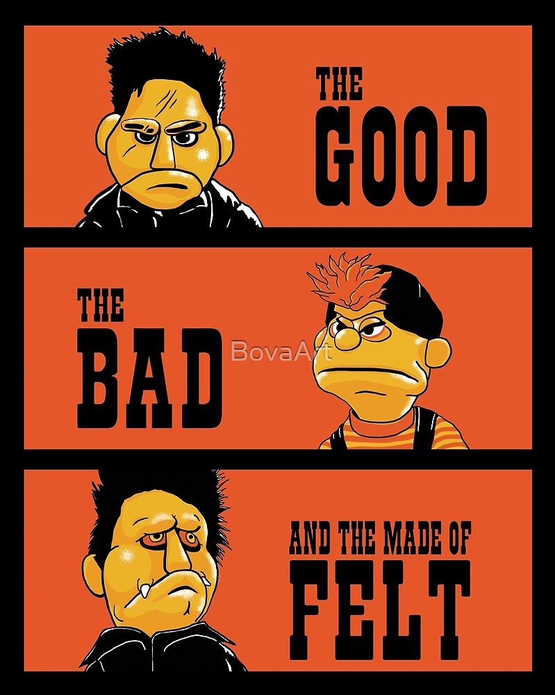 Angel - The Good, the bad, and the made of felt by BovaArt