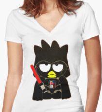 Darth-Maru Women's Fitted V-Neck T-Shirt