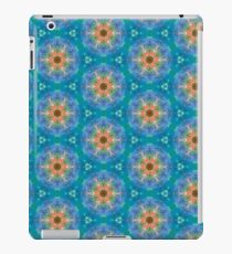 Unique Blue Abstract Pattern iPad Case/Skin