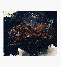 Celestial Wolf Photographic Print